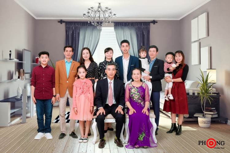 Chụp ảnh gia đình đẹp tại Ninh Bình